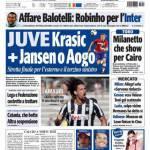 Tuttosport: Juve, Krasic+Jansen o Aogo