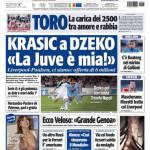 "Tuttosport: Krasic a Dzeko ""La Juve è mia"""