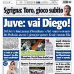Tuttosport: Juve, vai Diego!