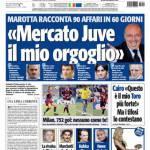 """Tuttosport: Marotta """"Mercato Juve il mio orgoglio"""""""