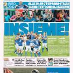 Gazzetta dello Sport: Insieme!