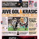 Gazzetta dello Sport: Juve, gol e Krasic