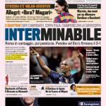Gazzetta dello Sport: Interminabile