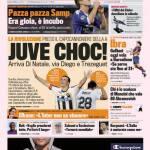 La Gazzetta dello Sport: Juve Choc