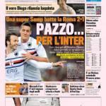 Gazzetta dello Sport: Pazzo…per l'Inter