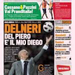 """Gazzetta dello Sport: Delneri """"Del Piero è il mio Diego"""""""