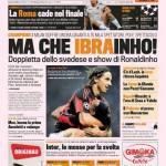 Gazzetta dello Sport: Ma che Ibrainho!