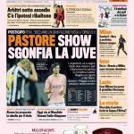Gazzetta dello Sport: Pastore show sgonfia la Juve