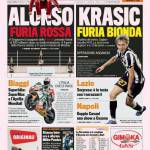 Gazzetta dello Sport: Krasic furia bionda
