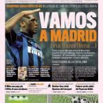 Gazzetta dello Sport: Vamos a Madrid