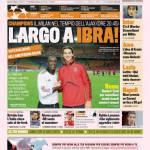La Gazzetta dello Sport: Largo a Ibra
