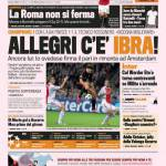Gazzetta dello Sport: Allegri c'è Ibra!