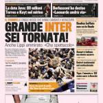 Gazzetta dello Sport: Grande Inter sei tornata!