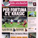 Gazzetta dello Sport: Per fortuna c'è Krasic