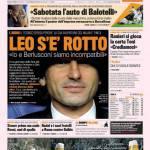 Gazzetta dello Sport: Leo s'è rotto