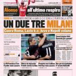 Gazzetta dello Sport: Un due tre Milan!