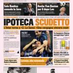 Gazzetta dello Sport: Ipoteca scudetto