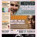 """Gazzetta dello Sport: Nedved """"Juve hai tutto per vincere"""""""