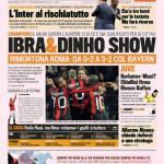 Gazzetta dello Sport: Ibra e Dinho show