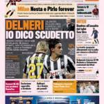 """Gazzetta dello Sport: Delneri """"Io dico scudetto"""""""