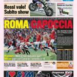 Gazzetta dello Sport: Roma capoccia