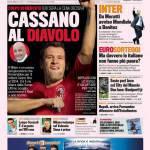 Gazzetta dello Sport: Cassano al Diavolo
