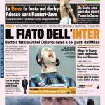 Gazzetta dello Sport: Il fiato dell'Inter