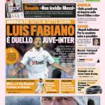 Gazzetta dello Sport: Luis Fabiano, è duello Juve-Inter