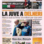 Gazzetta dello Sport: la Juve a Delneri