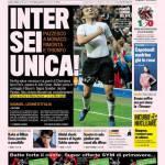 Gazzetta dello Sport: Inter sei unica