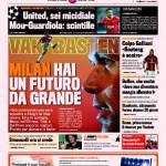 "Gazzetta dello Sport: Van Basten ""Milan, hai un futuro da grande"""