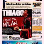 Gazzetta dello Sport: Thiago, il muro del Milan