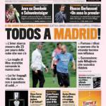 Gazzetta dello Sport: Todos a Madrid!