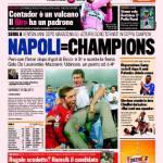 Gazzetta dello Sport: Napoli=Champions