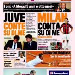 """Gazzetta dello Sport: """"Milan, conta su di me"""""""