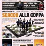 Gazzetta dello Sport: Scacco alla Coppa
