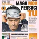 Gazzetta dello Sport: Mago Mou pensaci tu