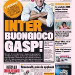 Gazzetta dello Sport: Inter, buongiorno Gasp