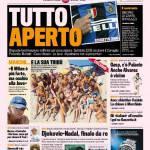Gazzetta dello Sport: Tutto aperto