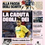 Gazzetta dello Sport: La caduta degli dei
