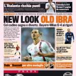 Gazzetta dello Sport: New look, old Ibra