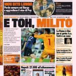 Gazzetta dello Sport: E toh, Milito