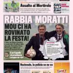 Gazzetta dello Sport: Rabbia Moratti, Mou ci ha rovinato la festa