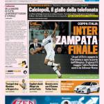 Gazzetta dello Sport: Inter zampata finale
