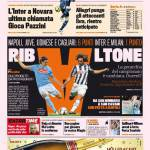 Gazzetta dello Sport: Ribaltone