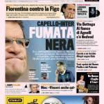 La Gazzetta dello Sport: Capello-Inter, fumata nera
