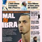 Gazzetta dello Sport: Mal di Ibra