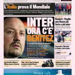 Gazzetta dello Sport: Inter, ora c'è Benitez