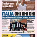 Gazzetta dello Sport: Italia ohi ohi ohi!