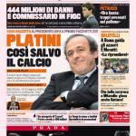 Gazzetta dello Sport: Platini, così salvo il calcio